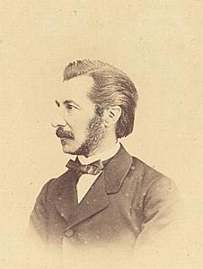 Eugène Martine Genève Protestantisme Ancienne CDV Photo Autographe 1860