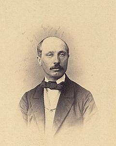 Monsieur Quirhier? Genève Protestantisme Ancienne CDV Photo Autographe 1860