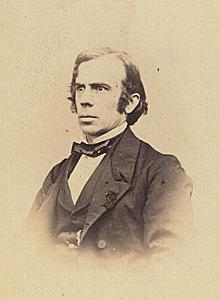 Docteur Louis Appia Croix Rouge Genève Protestantisme Ancienne CDV Photo Autographe 1860