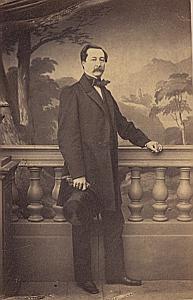 Jacques Adrien Naville Genève Protestantisme Ancienne CDV Photo Autographe 1860
