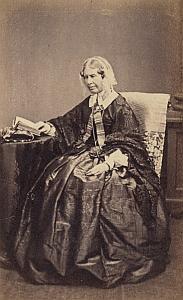 Sarah Prideaux Tregelles Protestantisme Royaume Uni Ancienne CDV Photo Autographe 1860