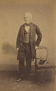Ecrivain Samuel Tregelles Protestantisme Royaume Uni Ancienne CDV Photo Autographe 1860