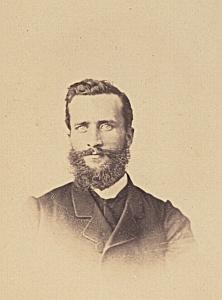 Alfred Giolina Gibraltar Protestantisme Royaume Uni Ancienne CDV Photo Autographe 1860