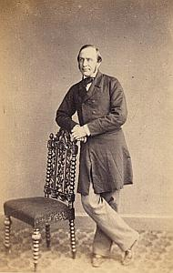 Pasteur William Greene Protestantisme Royaume Uni Ancienne CDV Photo Autographe 1860