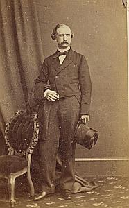 Jorge Wallace Protestantisme Islington Royaume Uni Ancienne CDV Photo ca 1860