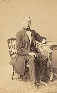 William MacKenzie Protestantisme Royaume Uni Ancienne CDV Photo Autographe 1860