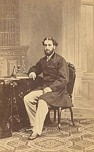 Henry Liverpool Protestantisme Royaume Uni Ancienne CDV Photo ca 1860