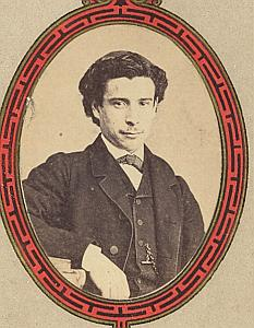 Pasteur Rafael Blanco Protestantisme Lausanne Ancienne CDV Photo Autographe 1860