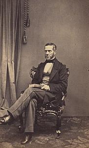 Baron Van Lynden Protestantisme Arnhem Ancienne CDV Photo Autographe 1860