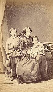 Mde Cavier & ses Fils Protestantisme Pau Ancienne CDV Photo 1860