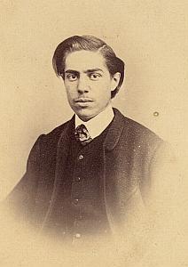 Charles de Coutouly Protestantisme Pau Ancienne CDV Photo Autographe 1860