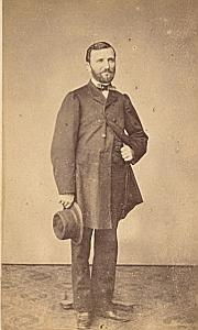 Joel de Robert Protestantisme Toulouse Ancienne CDV Photo 1860