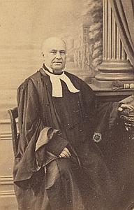Famille Jay Protestantisme Sainte Foy Ancienne CDV Photo 1860