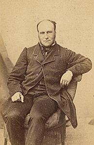Pasteur Pierre Massy Junior Protestantisme Paris Ancienne CDV Photo ca 1860