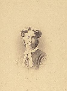 Madame Marty Protestantisme Bordeaux Ancienne CDV Photo ca 1860