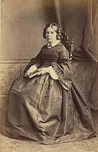 Madame Guillaume Monod Protestantisme Paris Ancienne CDV Photo 1860