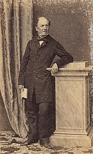 Sorbonne Professeur Saint Hilaire Protestantisme Paris Ancienne CDV Photo Autographe 1860