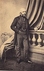 Pasteur Toupet Protestantisme Houlgate Ancienne CDV Photo Autographe 1860
