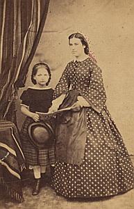 Famille Schusse Protestantisme Ancienne CDV Pacault Photo 1860