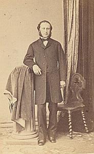 Pasteur Gustave Cambon Protestantisme Nantes Ancienne CDV Photo Autographe 1860