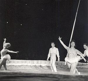 Moscow Circus Paris France Old Lipnitzki Photo 1955