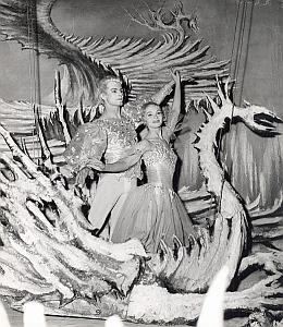 Cinderella Dance Ballet Paris Old Lipnitzki Photo 1955