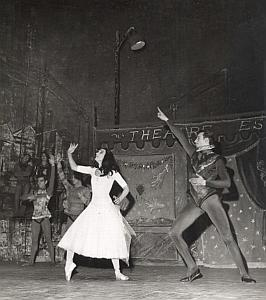 Paris Theater Dance Ballet Old Lipnitzki Photo 1955