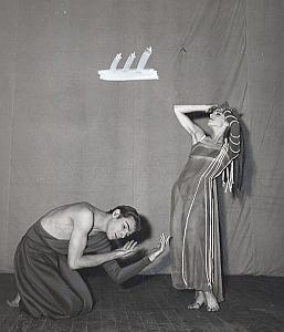Netherlands Dance Ballet Paris Old Lipnitzki Photo 1960