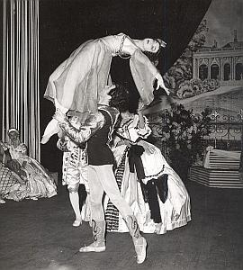 Ballets de Brno Alhambra Dance Old Lipnitzki Photo 1955
