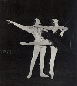 Swan Lake Bolchoi Dance Ballet Old Lipnitzki Photo 1955