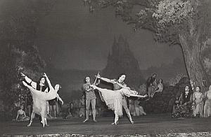 Swan Lake Moscow Dance Ballet Old Lipnitzki Photo 1955