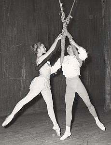 Paris Dance Ballet Theater Old Lipnitzki Photo 1955
