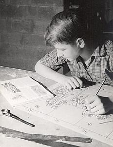 Pedagogy Scouting Childhood Photo Robert Manson 1960's