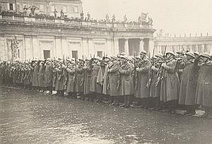 Military Ceremony Roma Italy Old Photo 1930