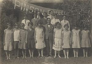 Cuba Camaguey Pinson College Old Photo 1926