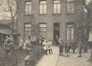 Young Girls School Paris France Old Photo 1930