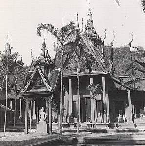 Phnom Penh National Museum Cambodia Indochina Old Photo 1950