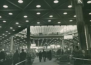 CNIT Diamond Exhibition Paris France Old Photo 1965