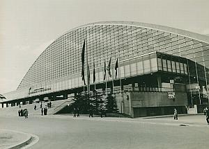 CNIT La Defense Paris Architecture France Photo 1965