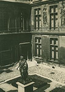 Musee Carnavalet Museum Paris France Old Photo 1965