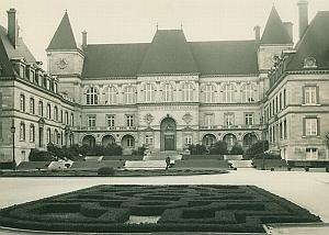 Paris University Paris France Old Photo 1965