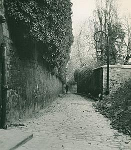 Balzac House Rue Berton Paris France Old Photo 1965
