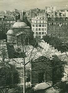 Chapelle Expiatoire Chapel Paris France Old Photo 1965
