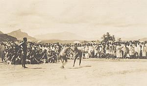 Ambalavo Bara Wrestlers Madagascar Old Diez Photo 1924