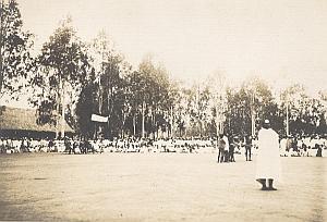 Betioky Place Wrestlers Madagascar Old Diez Photo 1924