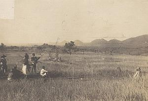 Isalo Mounts Madagascar Old Diez Photo 1924