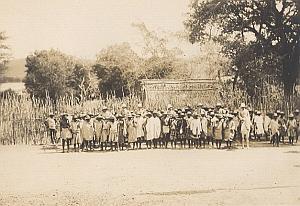 Anaralava Onilahy Group Madagascar Old Diez Photo 1924