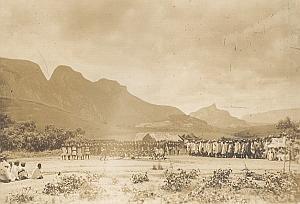 Ambalavo Bara Dancers Madagascar Old Diez Photo 1924
