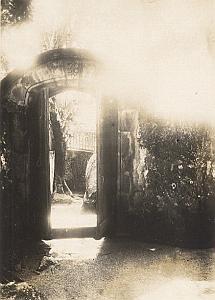 Unknown Place Door Madagascar Old Diez Photo 1924