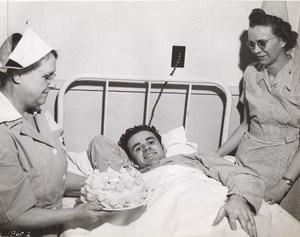 Maine WWII Hospital Birthday Cake US Army Airfield Presque Isle Photo 1945